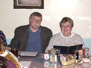 Ronn Huth and his wife Bonnie